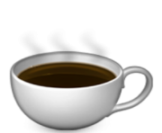 ios emoji hot beverage