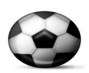ios emoji soccer ball