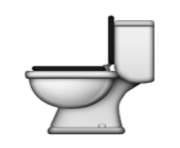 ios emoji toilet