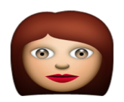 ios emoji woman
