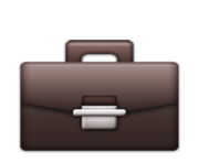 ios emoji briefcase