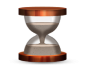 ios emoji hourglass