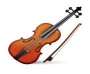 ios emoji violin