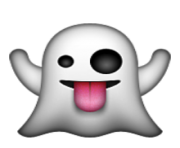 ios emoji ghost