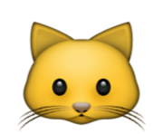 ios emoji cat face