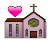 ios emoji wedding