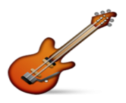 ios emoji guitar