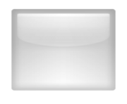 ios emoji white large square