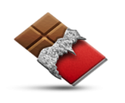 ios emoji chocolate bar