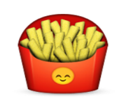 ios emoji french fries