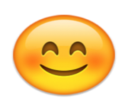 ios emoji smiling face with smiling eyes