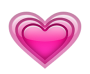 ios emoji growing heart