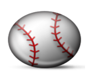 ios emoji baseball