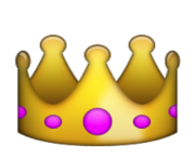 ios emoji crown