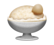 ios emoji ice cream