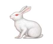 ios emoji rabbit