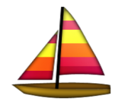 ios emoji sailboat
