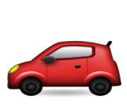 ios emoji automobile