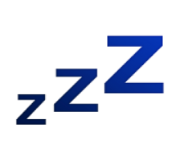 ios emoji sleeping symbol