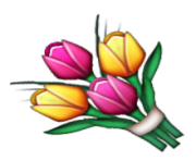 ios emoji bouquet