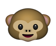 ios emoji monkey face