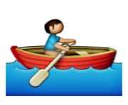 ios emoji rowboat