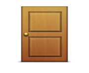 ios emoji door