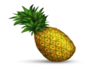 ios emoji pineapple