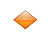 ios emoji small orange diamond