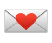 ios emoji love letter
