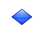 ios emoji small blue diamond