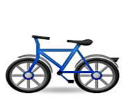 ios emoji bicycle