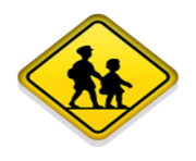 ios emoji children crossing