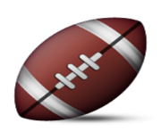 ios emoji american football