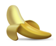 ios emoji banana