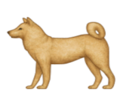 ios emoji dog