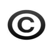 ios emoji copyright sign