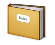 ios emoji notebook with decorative cover