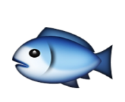 ios emoji fish