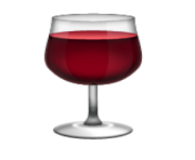 ios emoji wine glass