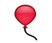 ios emoji balloon