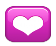 ios emoji heart decoration