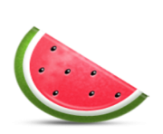 ios emoji watermelon