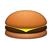 ios emoji hamburger