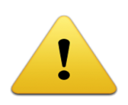 ios emoji warning sign