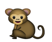 ios emoji monkey