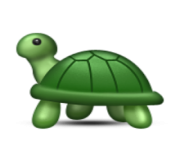 ios emoji turtle