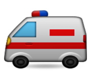 ios emoji ambulance