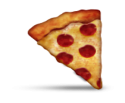 ios emoji slice of pizza