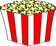 popcorn free images rh clipart info clipart of popcorn bag clipart popcorn black and white